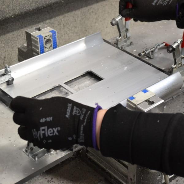 Aluminium extrusion fabrication