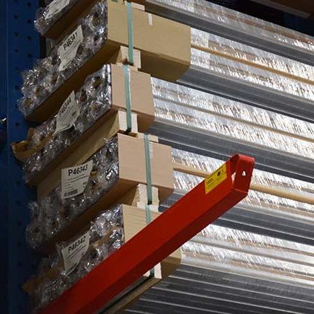 Aluminium profile stockholding